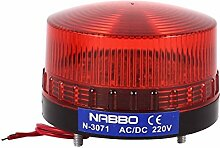 AC 220 V Red LED Industrie Warnung Signal Tower