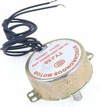 AC 220V-240V 5 / 4W 6RPM 50 / CCW 7mm Dia Fan synchroonmotor