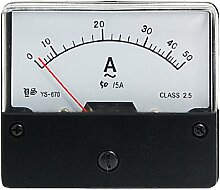 AC 50 A Analog Current Panel Meter Amperemeter YS