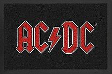 AC/DC Fußmatte mit Logo