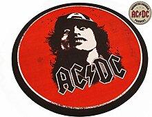 AC/DC Teppich rund Angus Young - Runder Teppich 100 cm Fußmatte