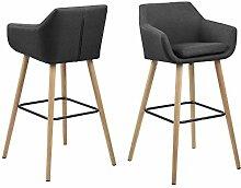 AC Design Furniture Barhocker Trine, B: 55 x T:54