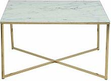 AC Design Furniture Couchtisch Antje, B: 80 x T:80