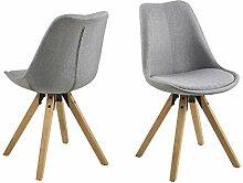 AC Design Furniture Couchtisch Chloe, B: 80 x T:80