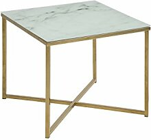 AC Design Furniture Ecktisch Antje, B: 50 x T:50 x