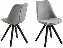 AC Design Furniture Stuhl Nadia, B: 48,5 x T:55 x