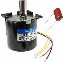AC Synchron-Getriebemotor, 60mm, 230V, 50Hz, 4W (4