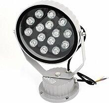 AC85-245V 15W Pure White LED-Gebäude Garten-Flutlicht-Scheinwerfer