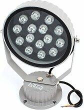 AC85-245V 15W Warm White LED Outdoor-Garten-Teich-Flut-Scheinwerfer