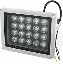 AC85-245V 20W Gelb-Quadrat-LED Aussen Gebäude Garten-Flut-Lich