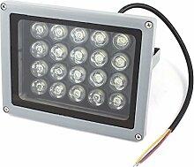 AC85-245V 20W reines weißes Quadrat-LED-Gebäude Garten-Flut-Lich