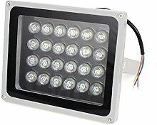 AC85-245V 24W Pure White LED-Gebäude Garten-Flutlicht-Scheinwerfer