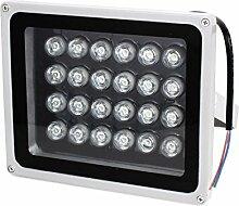 AC85-245V 24W Rote LED im Freien Gebäude Garten-Flutlicht-Scheinwerfer