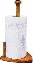 Acacia Holz Küche Papier Handtuchhalter