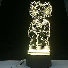 Academia Toga Himiko Figur führte Nachtlicht