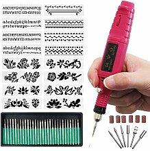 ACAMPTAR Diy Gravur Werkzeug Kit, Gravur Stift Diy