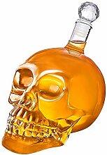 ACC 350 ml Totenkopf-Vodka Weinflasche Kreative