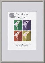 Accent Stahlgrau 70,0 x 70,0cm