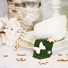 Accessoires - Holz-Streudeko Blumen