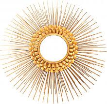 Accessoires - Metall Wandspiegel Augustus 100 Gold