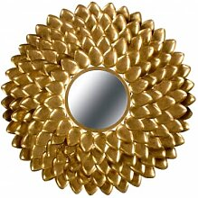 Accessoires - Metall Wandspiegel Daphne 190 Gold
