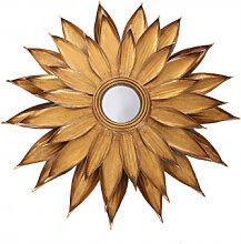 Accessoires - Metall Wandspiegel Lidia 101 Gold