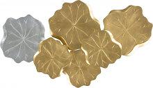 Accessoires - Wanddeko Leafs Auri 210 Gold