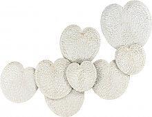 Accessoires - Wanddeko Shells Arum 710 Weiß