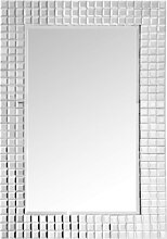 Accessoires - Wandspiegel Apollos 1410 Silber