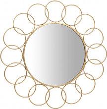 Accessoires - Wandspiegel Creolo 110 Gold