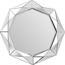 Accessoires - Wandspiegel Herakles 1010 Silber