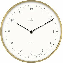 Acctim 29458 Bronx Wanduhr in Messing