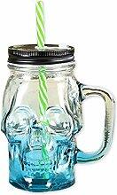 Ace Select Glastasse 300ml Totenkopf Glas