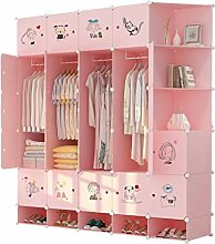 Ace zhyg Pink Space - Saving Combination Wardrobe,