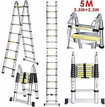 Acecoree 3.2M/5m Alu Leiter Mehrzweckleiter bis