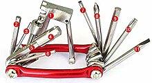 ACECOREE- Fahrradreparatur-Werkzeugsat,11 in 1