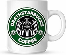 "acen ""Darth Vader Starwars Starbucks Keramik Becher, Weiß, 11 Oz"