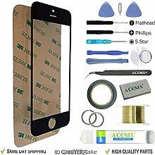 Acenix Ersatzteile-Set für Apple iPhone 5/5S/5C,