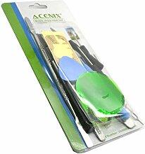 ACENIX Universal Reparaturset ® - 17 in 1 Reparatur Werkzeuge Schraubendreher SET KIT Handy Tasche für iPad, iPod, PSP, iPhone