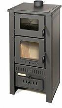 acerto 40513 Santo Holzofen - 8 kW - Kaminofen aus