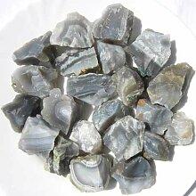 Achat natur 500g., Rohsteine Minerale Dekosteine (1 kg = 15,60 EUR)