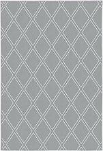 Achilles Berlin Teppich Monroe 300 Grau/Blau 120 x