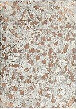 Achilles Berlin Teppich Spark 210 Elfenbein/Chrom