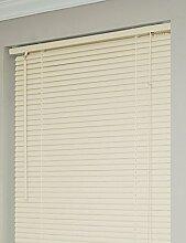 Achim Home Furnishings 1Breite Fenster Jalousien, Alabaster, 46-inch Wide x 64-inch Long