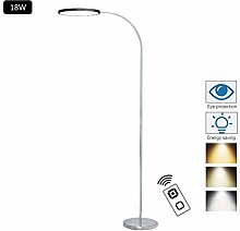 ACHNC Stehlampe LED Dimmbar Mit Fernbedienung,18W