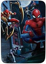 Achoka Marvel 01Teppich Spiderman Flauschiger,