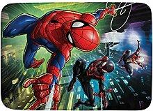 Achoka Marvel 03Teppich Spiderman Flauschiger,