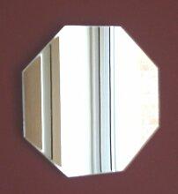 Achteck Spiegel 35cm x 35cm