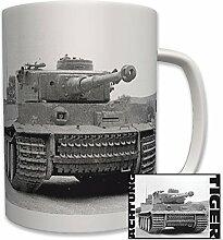 Achtung Tiger Panzer Foto Panzerkampfwagen Deutscher Panzer Wk2 - Tasse Becher Kaffee #6225