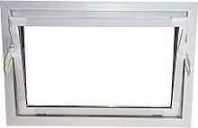 ACO 100cm Nebenraumfenster Kippfenster Einfachglas